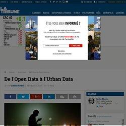De l'Open Data à l'Urban Data