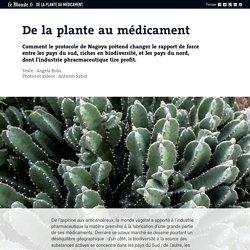 De la plante au médicament