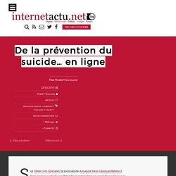 De la prévention du suicide… en ligne