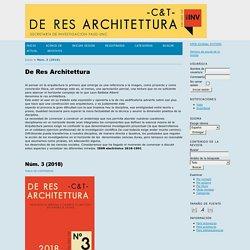 De Res Architettura