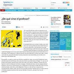 ¿De qué sirve el profesor? - 21.05.2007 - lanacion.com
