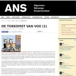 De toekomst van Vox (1)