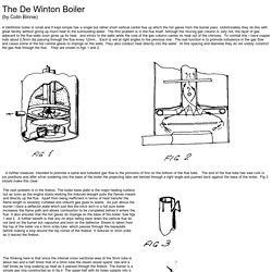 De Winton Boiler