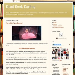 Dead Book Darling Book Reviews