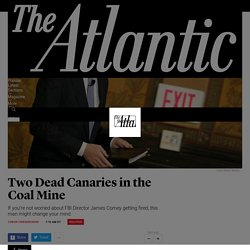 Two Dead Canaries in the Coal Mine - The Atlantic