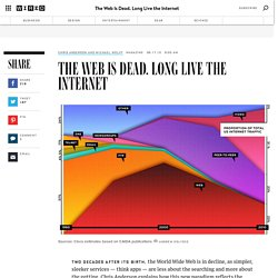 The Web Is Dead. Long Live the Internet | Wired Magazine