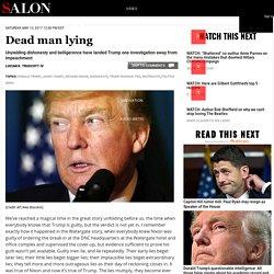 Dead man lying