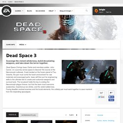 Action Game | Dead Space 2 | Visceral Games