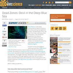Dead Zones: Devil in the Deep Blue Sea