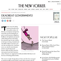 Deadbeat Governments