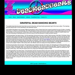 Grateful Dead Dancing Bear's