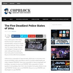 The Five Deadliest Police States of 2014
