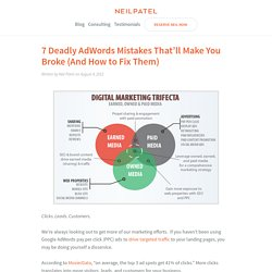 7 Deadly AdWords Mistakes That'll Make You Broke (And How to Fix Them)