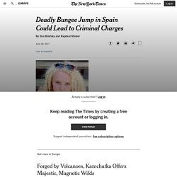 Deadly Bungee Jump in Spain Could Lead to Criminal Charges