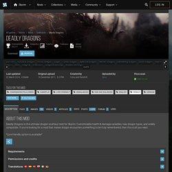 Deadly Dragons at Skyrim Nexus - Skyrim mods and community