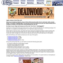Deadwood | Cheapass Games
