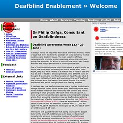 Deafblind Enablement