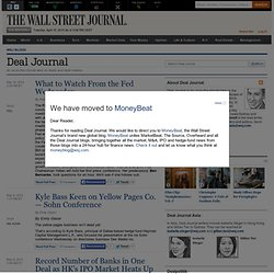 Deal Journal