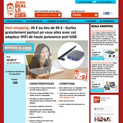 DEAL LX | Paris Deals en cours