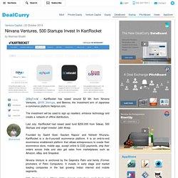 DealCurry.com : Nirvana Ventures, 500 Startups Invest In KartRocket