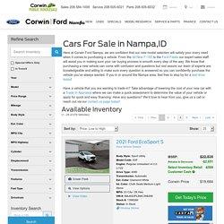 Car Dealership Nampa, ID