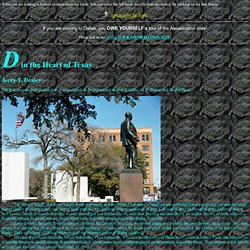 Plaza History / Dallas History