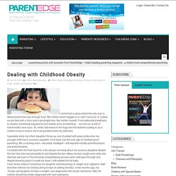 Dealing with Childhood Obesity