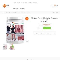 DealsVilla.in: Nutra Cart Height Gainer Powder Online Reviews/Price India