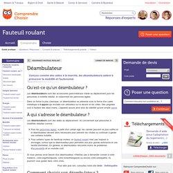 Déambulateur: quelles utilisations pour quel déambulateur?