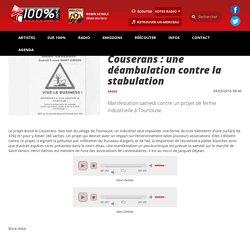 Couserans : une déambulation contre la stabulation - LES INFOS - 100% Radio