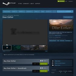 Dear Esther on Steam