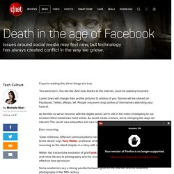 Death in the age of Facebook - CNET