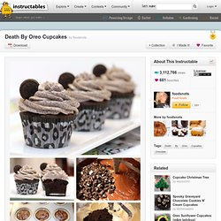Death By Oreo Cupcakes - StumbleUpon