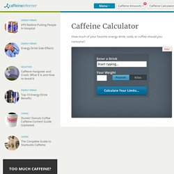 Death by Caffeine - StumbleUpon