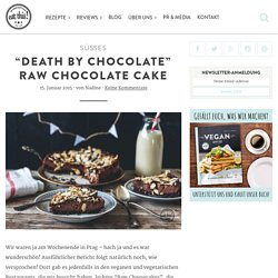 """Death by Chocolate"" Raw Chocolate Cake - eat this!"