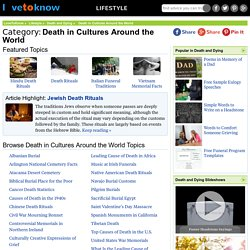 Death in Cultures Around the World