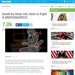 Death by Desk Job: How to Fight It [INFOGRAPHIC]