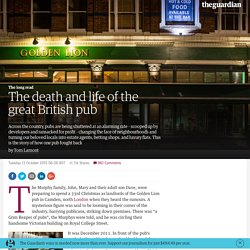 The death and life of the great British pub