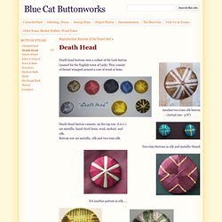 Death Head - Blue Cat Buttonworks