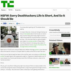 NSFW: Sorry Deathhackers; Life Is Short, And So It Should Be