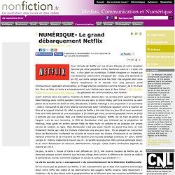 NUMÉRIQUE- Le grand débarquement Netflix