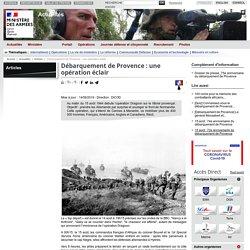 Débarquement de Provence : une opération éclair
