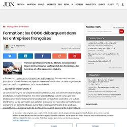 Formation : les COOC débarquent dans les entreprises françaises