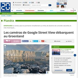 Les caméras de Google Street View débarquent au Groenland