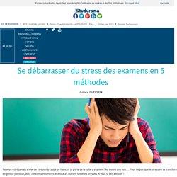 Se débarrasser du stress des examens en 5 méthodes