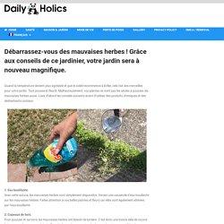 Débarrassez-vous des mauvaises herbes ! Grâce aux conseils de ce jardinier, votre jardin sera à nouveau magnifique. - DailyHolics