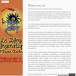Le blog flegmatique d