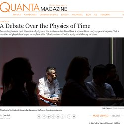 A Debate Over The Physics Of Time