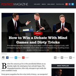 How to Win a Debate With Mind Games and Dirty Tricks