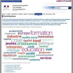Débats - Quelle France dans 10 ans ? CGSP